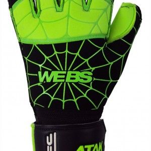 Atak Webs Goalkeeper Gloves Green_Black_1