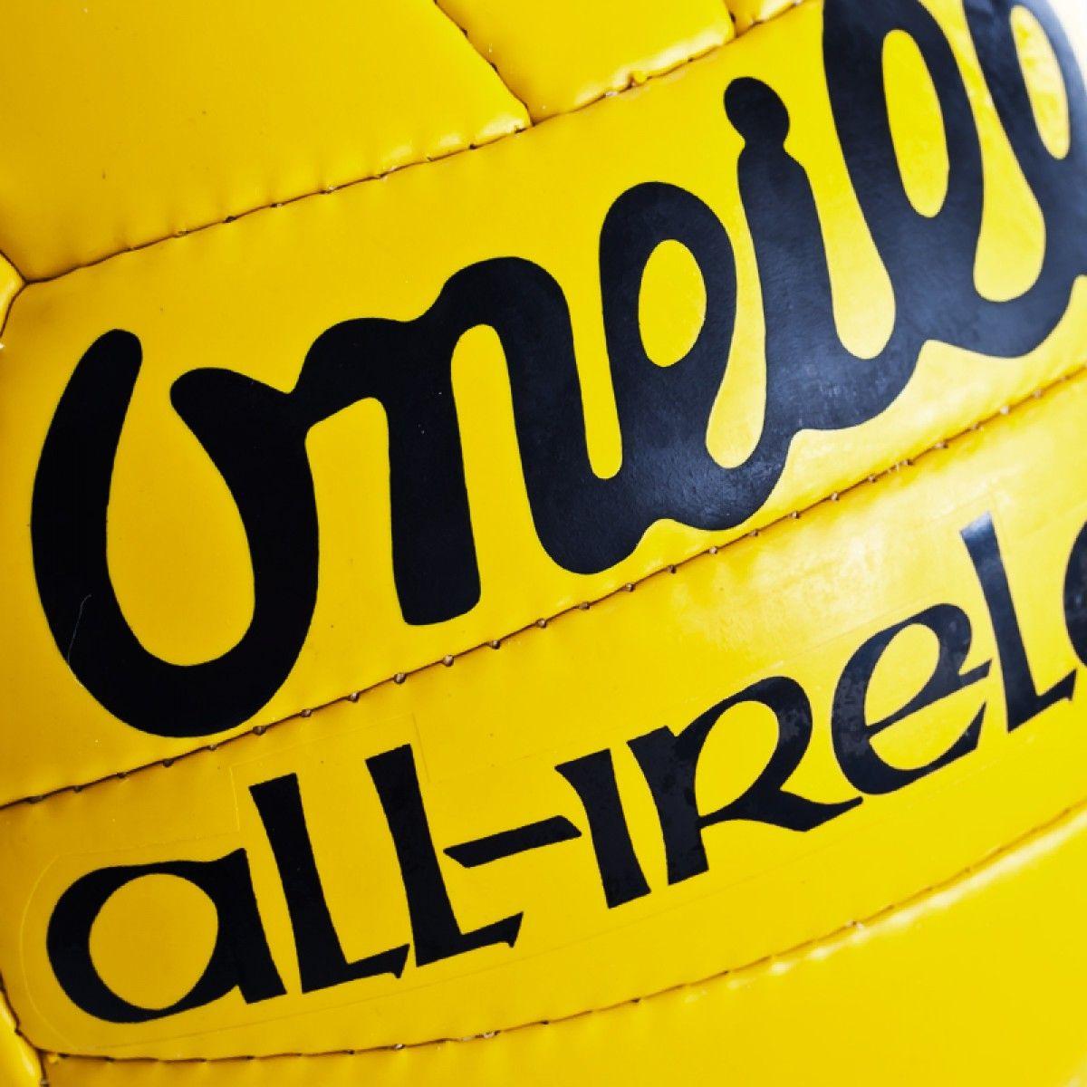 O Neills All Ireland Yellow Football Gaelic Sports Shop