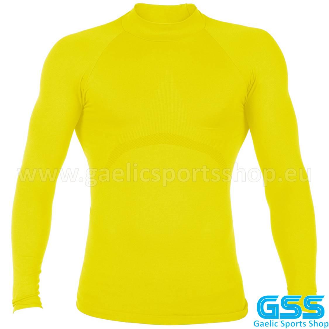 Camiseta Termica GSS One Amarilla 01