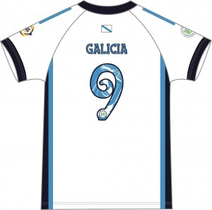 Galicia Team Home Jersey Kids