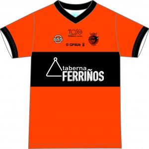 Camiseta Jugador Naranja 2019 (Delantera)