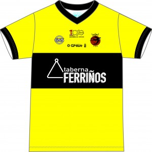 Camiseta Portero Amarilla 2019 (Delantera)