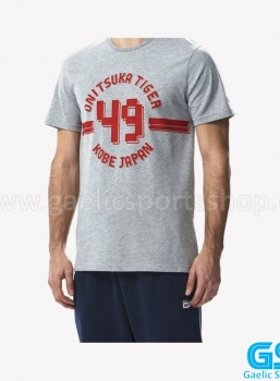 Camiseta Onitsuka Tiger Colleguiate Tee Gris