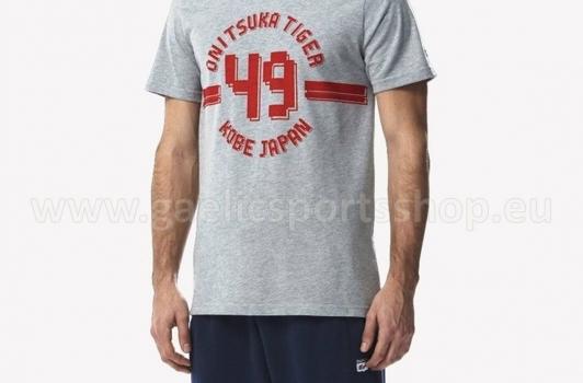 Camiseta Onitsuka Tiger Colleguiate Tee Gris