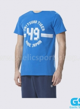 Camiseta Onitsuka Tiger Colleguiate Tee Azul Royal