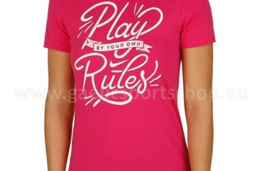 Camiseta Nike Play Rules Rosa Mujer