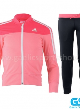 Chandal Adidas Girls Knit Suit Rosa