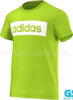Camiseta Adidas Lin Tee Verde Lima