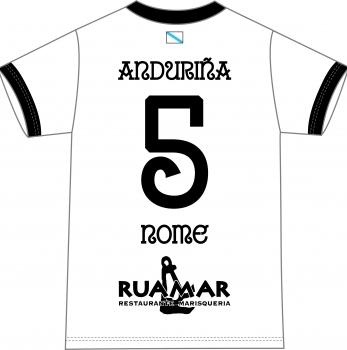 Camiseta Anduriña S.D. 1ª Equipación