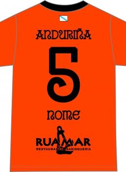 Camiseta Anduriña S.D. 2ª Equipación