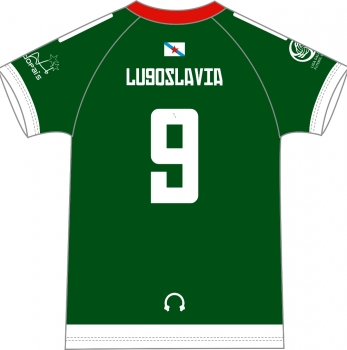 Camiseta Torques de Lugoslavia 1ª Equipación