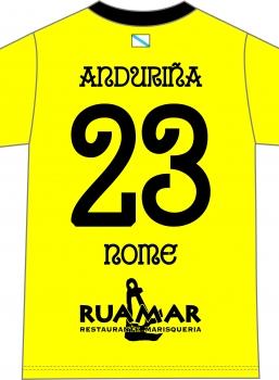 Camiseta Anduriña S.D. Portero Amarilla