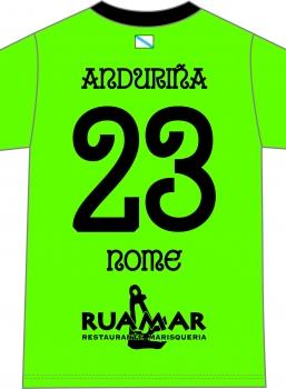 Camiseta Anduriña S.D. Portero Verde