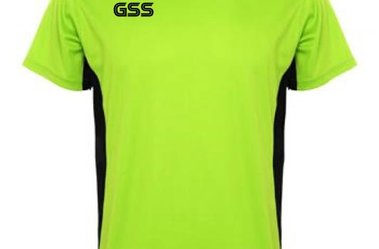 Camiseta Técnica GSS Duo Lima/Negro