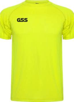 Camiseta Técnica GSS Basic Amarillo Fluor